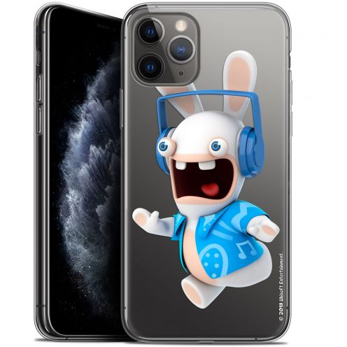 """Gel Apple iPhone 11 Pro Max (6.5"""") Case Lapins Crétins™ Techno Lapin"""