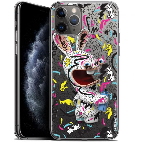 """Gel Apple iPhone 11 Pro Max (6.5"""") Case Lapins Crétins™ Tag"""