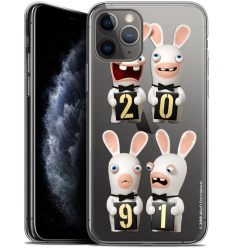"""Gel Apple iPhone 11 Pro Max (6.5"""") Case Lapins Crétins™ New Year"""