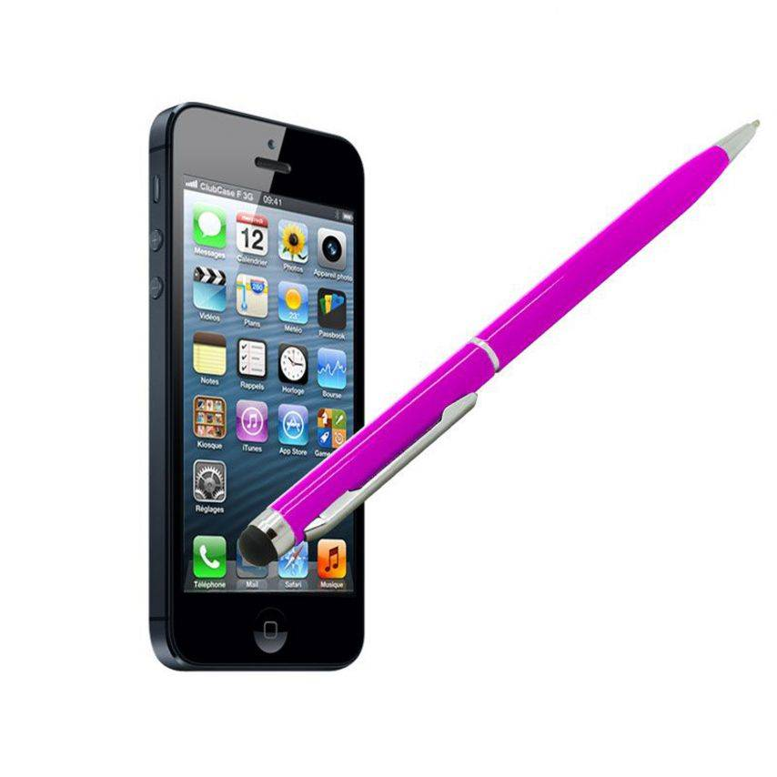 Touch pen quarter turn pink