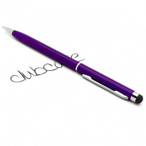 Touch pen quarter turn purple
