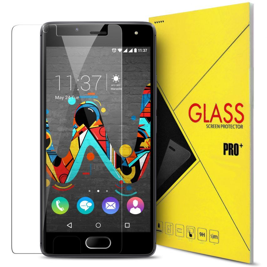 Glass Pro+ Ultra HD 9H 0.33 mm Tempered Glass Screen Protector for Wiko U Feel