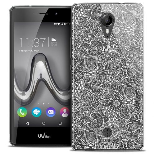 Extra Slim Crystal Gel Wiko Tommy Case Floral Lace Collection - White