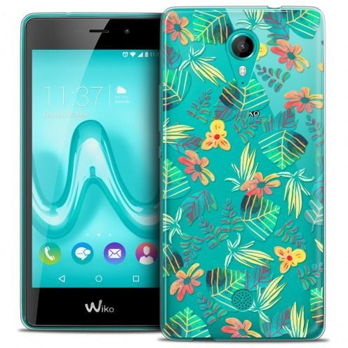 Extra Slim Crystal Gel Wiko Tommy Case Spring Tropical