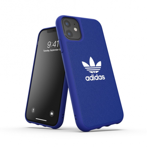 ADIDAS Originals Moulded case CANVAS for iPhone 11 PRO ( 5.8 ) power blue