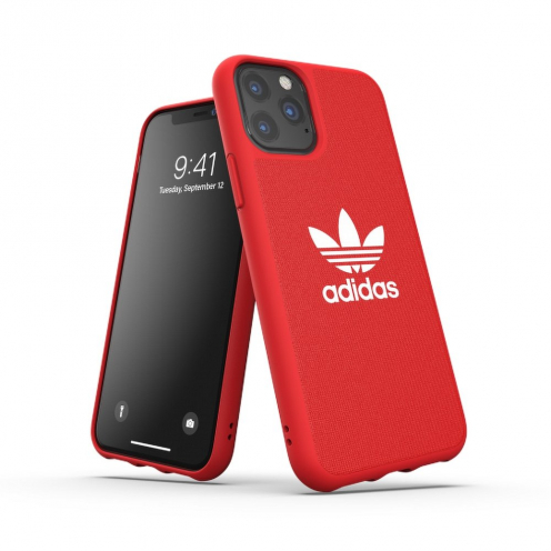 ADIDAS Originals Moulded Case CANVAS for iPhone 11 PRO ( 5.8 ) scarlet