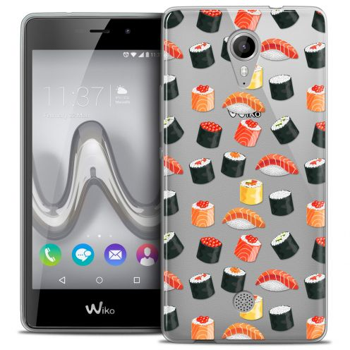 Extra Slim Crystal Gel Wiko Tommy Case Foodie Sushi