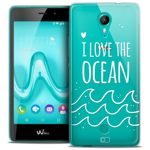 Extra Slim Crystal Gel Wiko Tommy Case Summer I Love Ocean