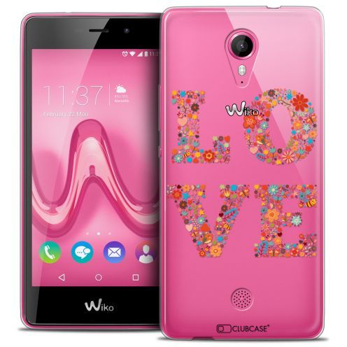 Extra Slim Crystal Gel Wiko Tommy Case Summer Love Flowers