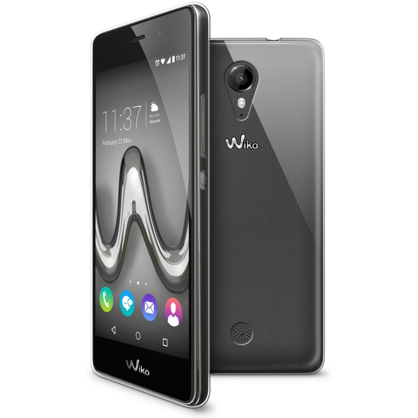 Extra Slim 1mm Crystal Clear View Flexible Case Wiko Tommy