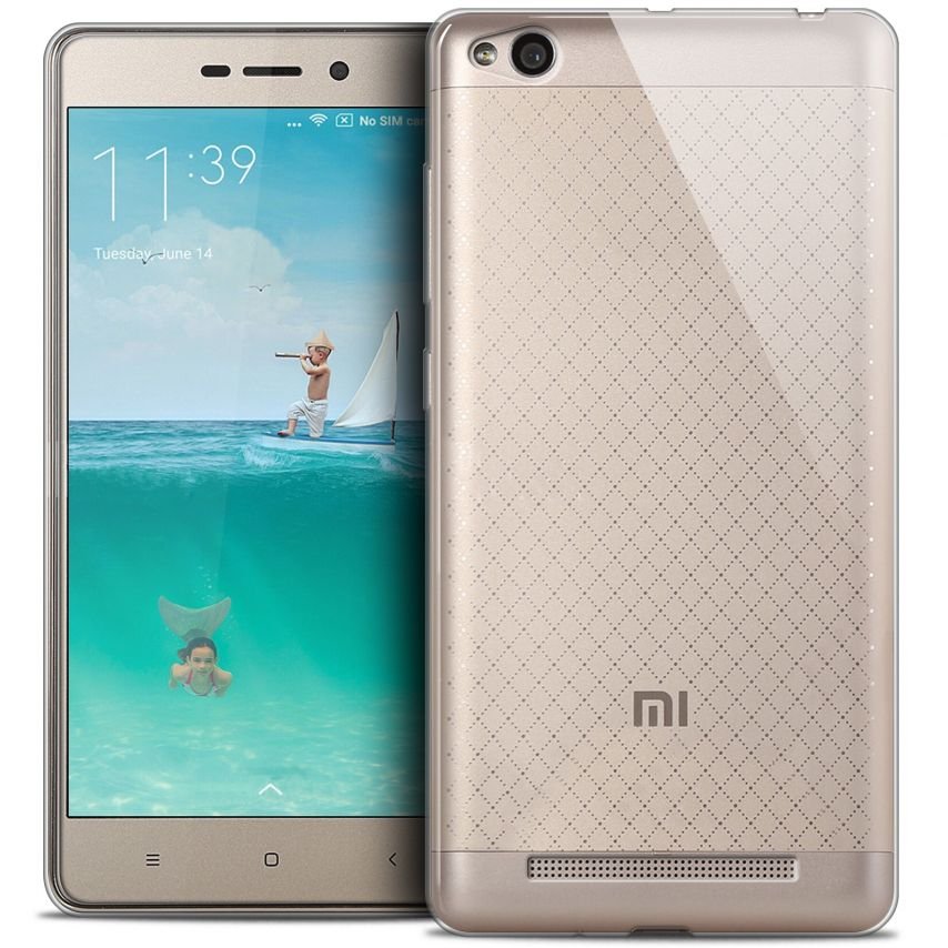 Extra Slim 1mm Crystal Clear View Flexible Case Xiaomi Redmi 3