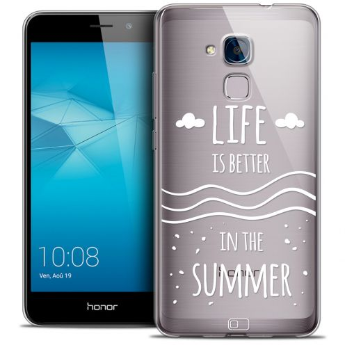 Extra Slim Crystal Gel Huawei Honor 5C Case Summer Life's Better