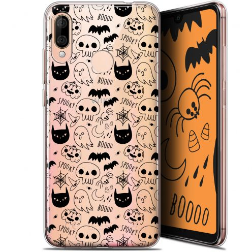 "Extra Slim Gel Wiko View 3 LITE (6.09"") Case Halloween Spooky"