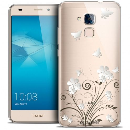 Extra Slim Crystal Gel Huawei Honor 5C Case Summer Papillons