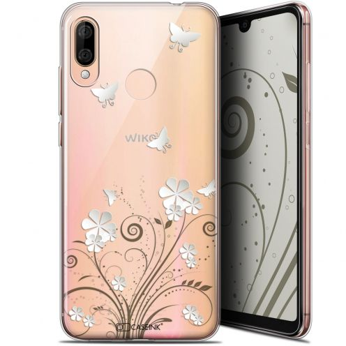 "Extra Slim Gel Wiko View 3 LITE (6.09"") Case Summer Papillons"