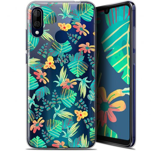 "Extra Slim Gel Wiko View 3 LITE (6.09"") Case Spring Tropical"
