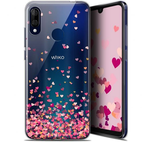 "Extra Slim Gel Wiko View 3 LITE (6.09"") Case Sweetie Heart Flakes"