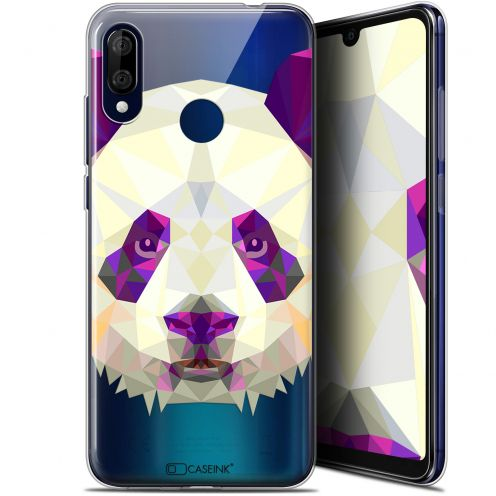 "Extra Slim Gel Wiko View 3 LITE (6.09"") Case Polygon Animals Panda"