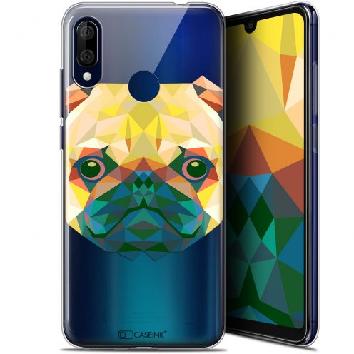 "Extra Slim Gel Wiko View 3 LITE (6.09"") Case Polygon Animals Dog"