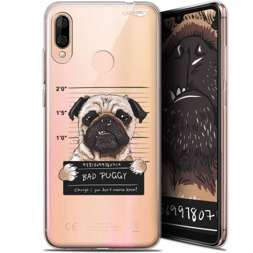 "Extra Slim Gel Wiko View 3 LITE (6.09"") Case Design Beware The Puggy Dog"