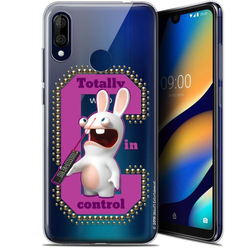"""Gel Wiko View 3 LITE (6.09"""") Case Lapins Crétins™ In Control !"""