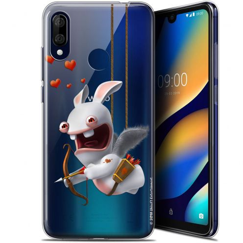 """Gel Wiko View 3 LITE (6.09"""") Case Lapins Crétins™ Flying Cupidon"""