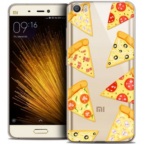 Extra Slim Crystal Gel Xiaomi Mi 5 Case Foodie Pizza