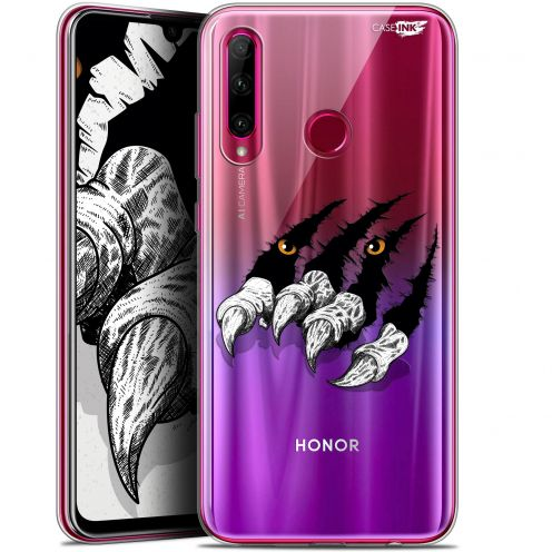 "Extra Slim Gel Huawei Honor 20 LITE (6.2"") Case Design Les Griffes"