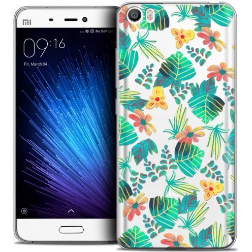 Extra Slim Crystal Gel Xiaomi Mi 5 Case Spring Tropical