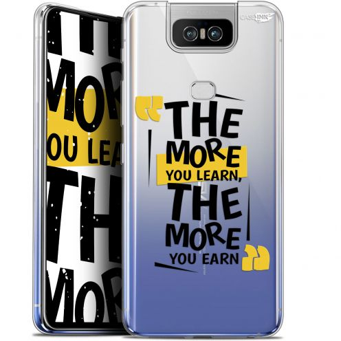 "Extra Slim Gel Asus Zenfone 6 ZS630KL (6.4"") Case Design The More You Learn"