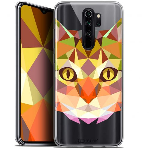 "Extra Slim Gel Xiaomi Redmi Note 8 PRO (6.5"") Case Polygon Animals Cat"