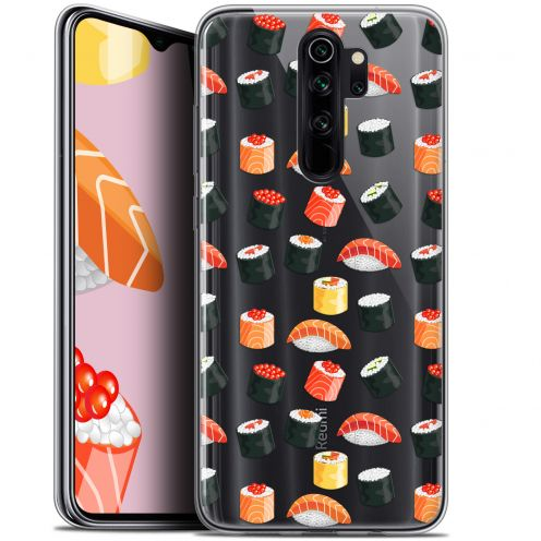 "Extra Slim Gel Xiaomi Redmi Note 8 PRO (6.5"") Case Foodie Sushi"