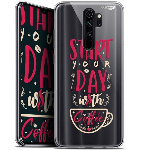 "Extra Slim Gel Xiaomi Redmi Note 8 PRO (6.5"") Case Design Start With Coffee"