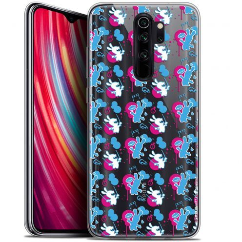 """Gel Xiaomi Redmi Note 8 PRO (6.5"""") Case Lapins Crétins™ Rugby Pattern"""