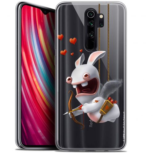 """Gel Xiaomi Redmi Note 8 PRO (6.5"""") Case Lapins Crétins™ Flying Cupidon"""