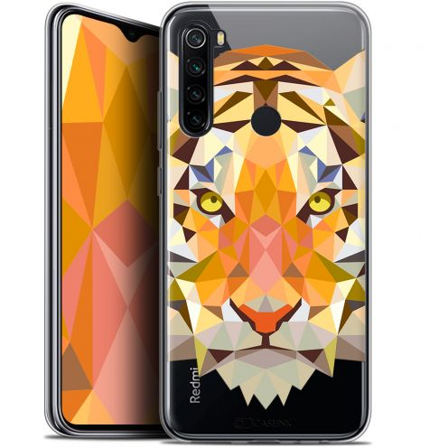 "Extra Slim Gel Xiaomi Redmi Note 8 (6.3"") Case Polygon Animals Tiger"