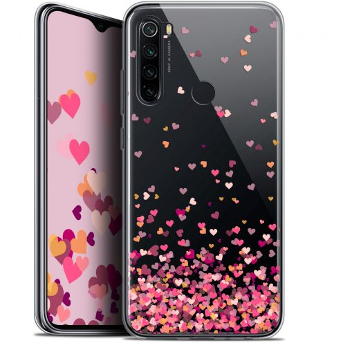 "Extra Slim Gel Xiaomi Redmi Note 8 (6.3"") Case Sweetie Heart Flakes"