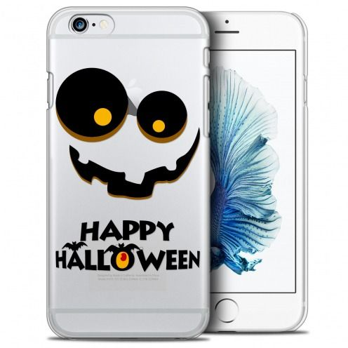 Extra Slim Crystal iPhone 6/6s (4.7) Case Halloween Happy