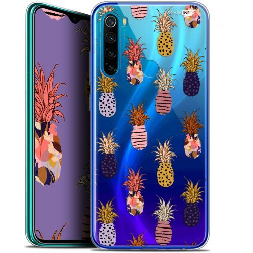 "Extra Slim Gel Xiaomi Redmi Note 8 (6.3"") Case Design Ananas Gold"