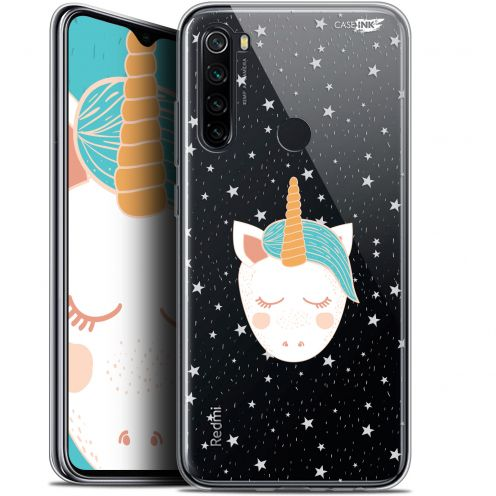 "Extra Slim Gel Xiaomi Redmi Note 8 (6.3"") Case Design Licorne Dors"