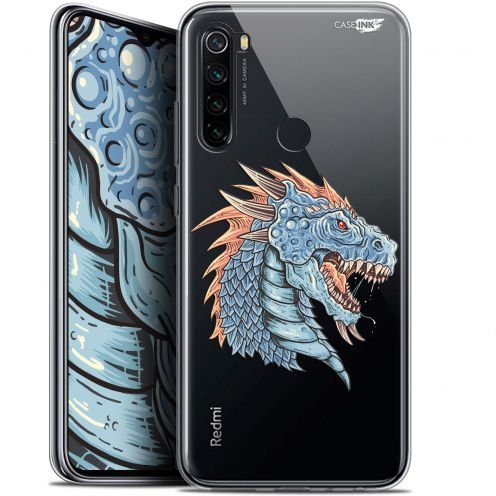 "Extra Slim Gel Xiaomi Redmi Note 8 (6.3"") Case Design Dragon Draw"
