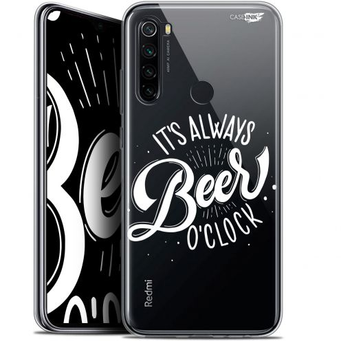 "Extra Slim Gel Xiaomi Redmi Note 8 (6.3"") Case Design Its Beer O'Clock"