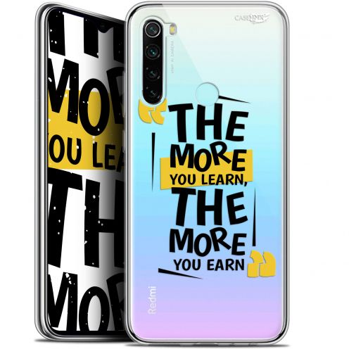 "Extra Slim Gel Xiaomi Redmi Note 8 (6.3"") Case Design The More You Learn"