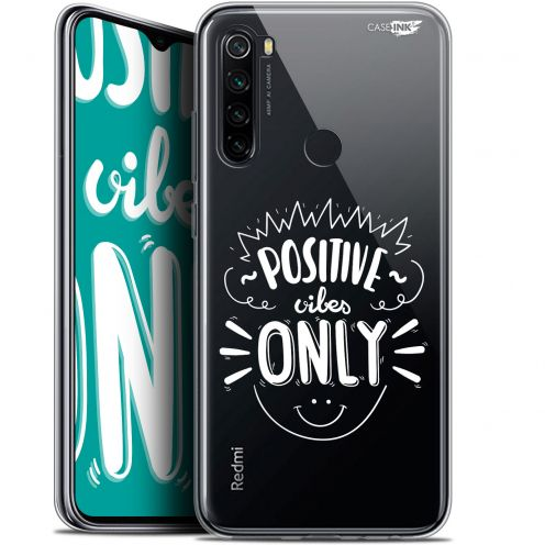 "Extra Slim Gel Xiaomi Redmi Note 8 (6.3"") Case Design Positive Vibes Only"