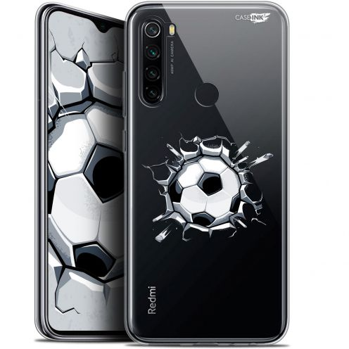 "Extra Slim Gel Xiaomi Redmi Note 8 (6.3"") Case Design Le Balon de Foot"