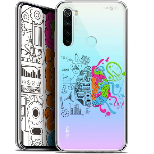 "Extra Slim Gel Xiaomi Redmi Note 8 (6.3"") Case Design Le Cerveau"