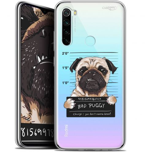 "Extra Slim Gel Xiaomi Redmi Note 8 (6.3"") Case Design Beware The Puggy Dog"