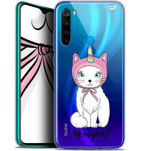 "Extra Slim Gel Xiaomi Redmi Note 8 (6.3"") Case Design Ce Chat Est MEOUgical"
