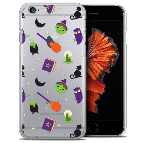 Extra Slim Crystal iPhone 6/6s (4.7) Case Halloween Witch Potter