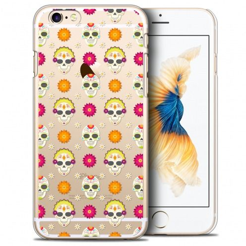 Extra Slim Crystal iPhone 6/6s (4.7) Case Halloween Skull Halloween